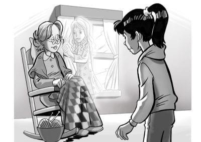 Clara, el fantasma de l'àvia