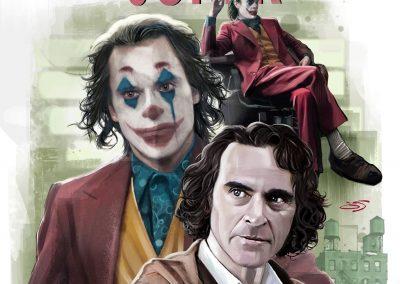 Ilustracion realista Joker